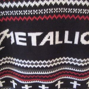Sweaters Heavy Metal Metallica Ugly Christmas Sweater Xl Poshmark